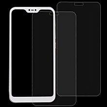 2 PCS 0.26mm 9H 2.5D Tempered Glass Film for Xiaomi Redmi 6 Pro / Mi A2 Lite