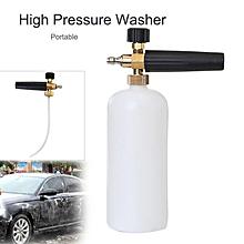 "1/4"" Snow Foam Lance Cannon Washer Bottle High Pressure Car Wash Sprayer Kit"