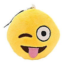 Cute Soft Emoji Smile Emoticon Pendant Toy Ornaments-naughty Pattern