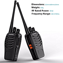 BaoFeng BF-888S Walkie Talkie Two-way Ham Radio 16 Channels + Free Cable & CD + Speaker Mic