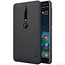 Super-Frosted-Shield-Executive Case for Nokia 6.1 (2018 )-Black