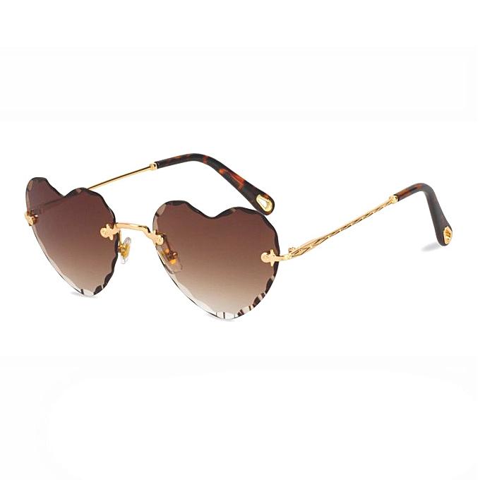 19369c304cb6 Fashion New Fashion Female Sunglasses Women s Heart Shaped ...
