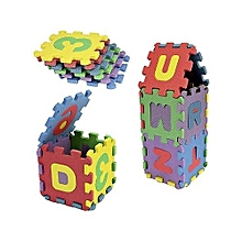 36Pcs Alphabet Play Mat BABY SOFT FOAM Puzzle Letters & Numbers,,,,,,,,