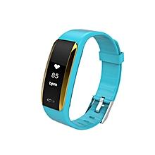 Blood Pressure Heart Rate Monitor Health Fitness Tracker Smart Bracelet green