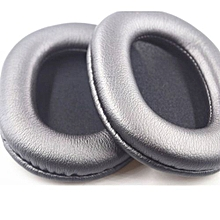 Replacement Ear Pad Cushion Earmuffs For Sony MDR-7506 MDR-V6 MDR-900ST (Grey)