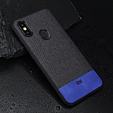 Bakeey Fabric Splice Soft Silicone Edge Shockproof Protective Case For Xiaomi Mi A2 / Xiaomi Mi 6X