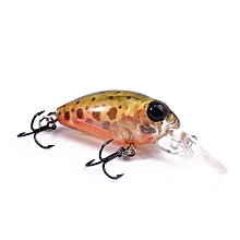 DW40 32mm Trulinoya Bare King Mini Fishing Lure Hard Bait With Hook Fishing Gear-ORANGE