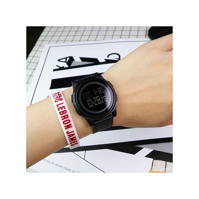 59a00044c93 SKMEI 1206 Men Women LED Digital Wristwatches Relogio Masculino Feminino  Waterproof Sport Thin Fashion Simple Dial