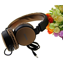 SE-5225 Folderble Wired Stereo headset With Mic Over Ear Headsets Bass HiFi Sound Music Earphone For iPhone Samsung PC computer