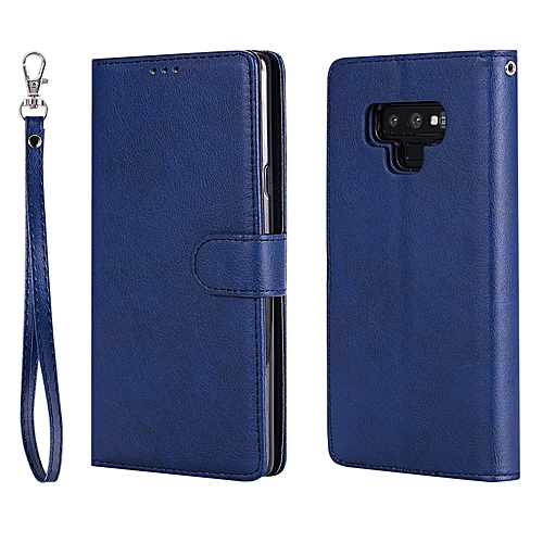 timeless design b926c 37b60 Grandcase,Premium PU Leather Solid Color 2 in 1 Folio Flip [Kickstand  Feature] Leather with Card Slots Shockproof Protective Case for Samsung  Galaxy ...