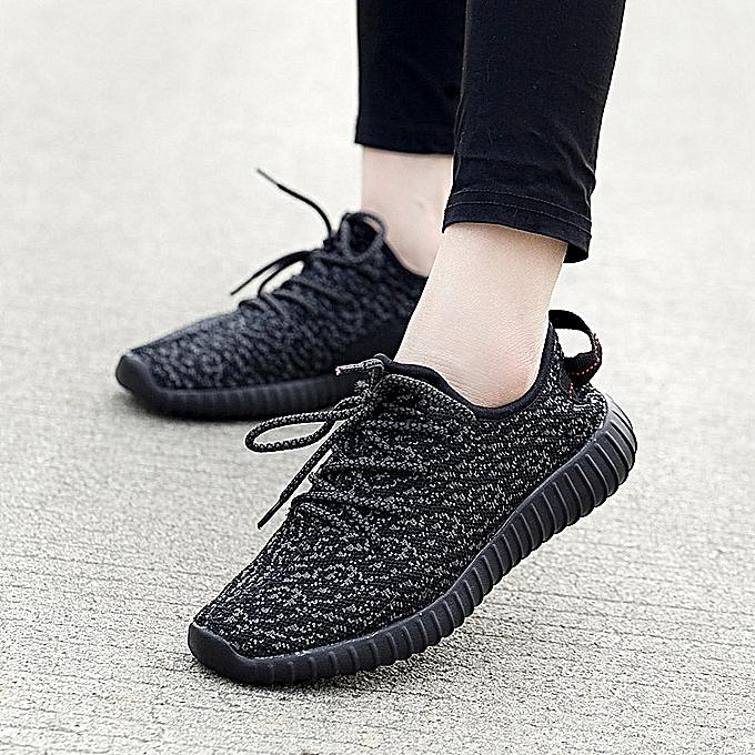 c44e5144c2a Fashion Men's Women's Running Shoes Comfortable Sports Shoes Men Women  Athletic Outdoor Cushioning Sneakers For Walking&Jogging-Black