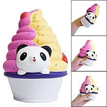 Squishies Panda Ice Cream Scented Cream Slow Rising Squeeze Stress Reliever Toy
