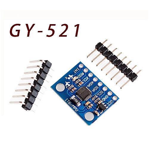 100% New GY-521 MPU6050 Module 3 Axis analog gyro sensors+ 3 Axis  Accelerometer
