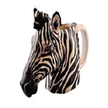 Safari Ceramic Mug- Zebra