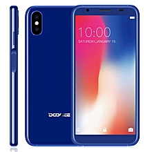X55 1GB+16GB Dual Back Cameras 5.5 inch Android 7.1 MTK6580 Quad Core up to 1.3GHz Dual SIM 3G Smartphone(Blue)
