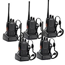 BAOFENG BF-888S Walkie Talkie Two-way Portable CB Radio (5 Unit)