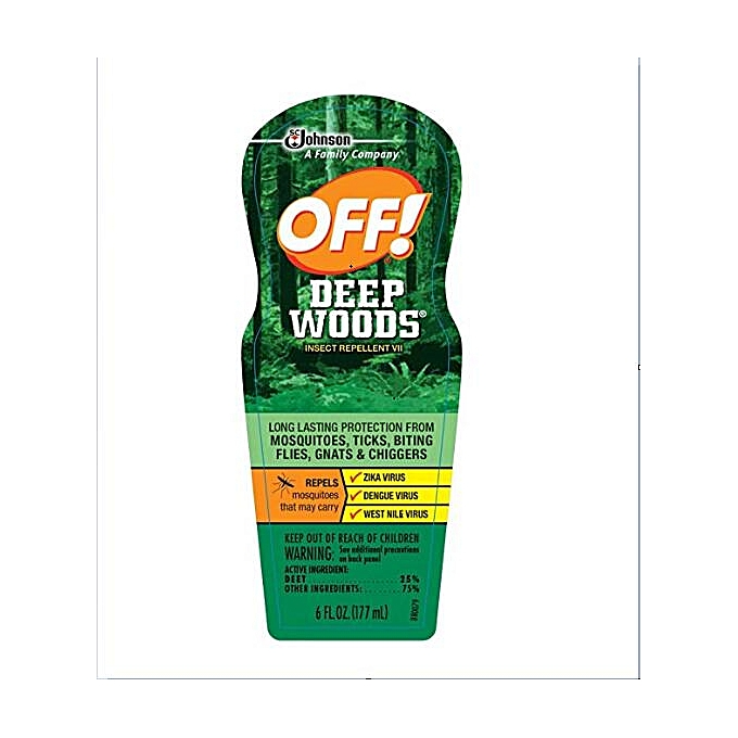 Generic OFF! Deep Woods Insect Repellent VII, 6 oz (177ml) UDOKA