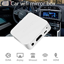 [Upgraded] Mini Car WiFi Display Box Share Phone To Car Display Airplay DLNA Mirroring Miracast Support IOS Android GPS Navigation With RCA(CVBS) And HDMI Output 1080P LBQ