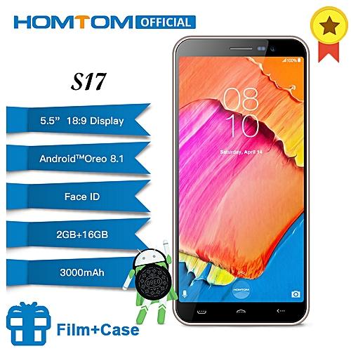 0a53ca5f0c5 Homtom S17 Android 8.1 Quad Core 5.5