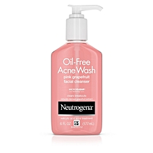 Oil-Free Acne Wash Pink Grapefruit Facial Cleanser - 6oz (177ml)