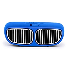 NewRixing NR - 2020 Wireless Bluetooth Stereo Speaker Portable Player-BLUE