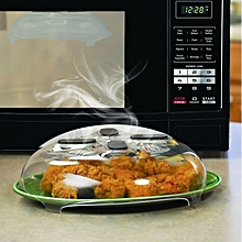 Microwave Hover Anti-Sputtering Cover New Food Splatter Guard Microwave Splatter Lid with Steam Vent