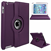 PU Leather Smart Stand Flip Case Cover for Apple iPad mini3/2/1 360 Rotation Tablet Full Protector Case HSL-G