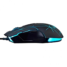 AJ52 USB Wired Gaming Mouse Backlit Programmable Game Mice Laptop 4 BDZ