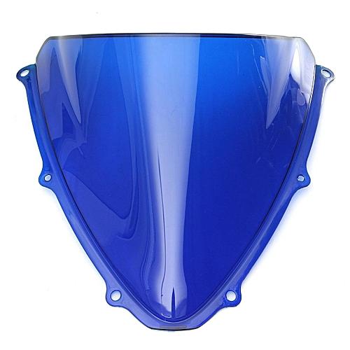 Windshield WindScreen For Double Bubble Suzuki GSXR 600 750 2006 2007 K6  Blue