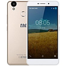 T9 Pro Android 6.0 5.5 Inch 4G Phablet MTK6737 Quad Core 1.3GHz 2GB RAM 16GB ROM Fingerprint Scanner Bluetooth 4.0 GPS-GOLDEN