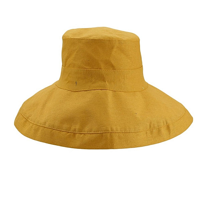 3adc7c3a90d Generic Japanese Style Sun Hat Foldable Wide Brimmed Women Visor ...