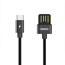 REMAX USB Type C Cable, Type C to USB 3.0 Cable Nylon Braided USB C Charger Cord for Samsung Galaxy S8 S8+ note8, LG G6 G5 V20, Nexus 5X/6P, OnePlus 2, Macbook and More DIOKKC