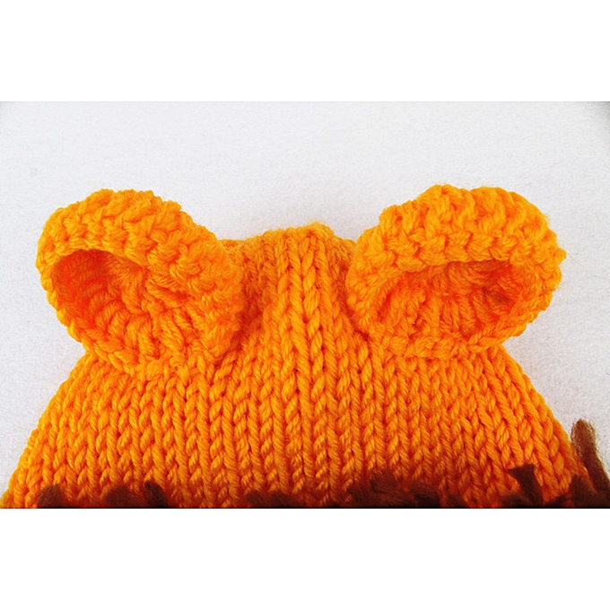 05b39f04d Generic Hiaojbk Store Newborn Baby Lion Set Cartoon Costume Knitted ...