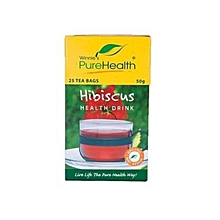 Pure Health Hibiscus Health Drink 50 g 25 Bags