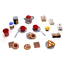 Afternoon Tea Dessert Toy Set Pretend & Play Children Home Educational Toy