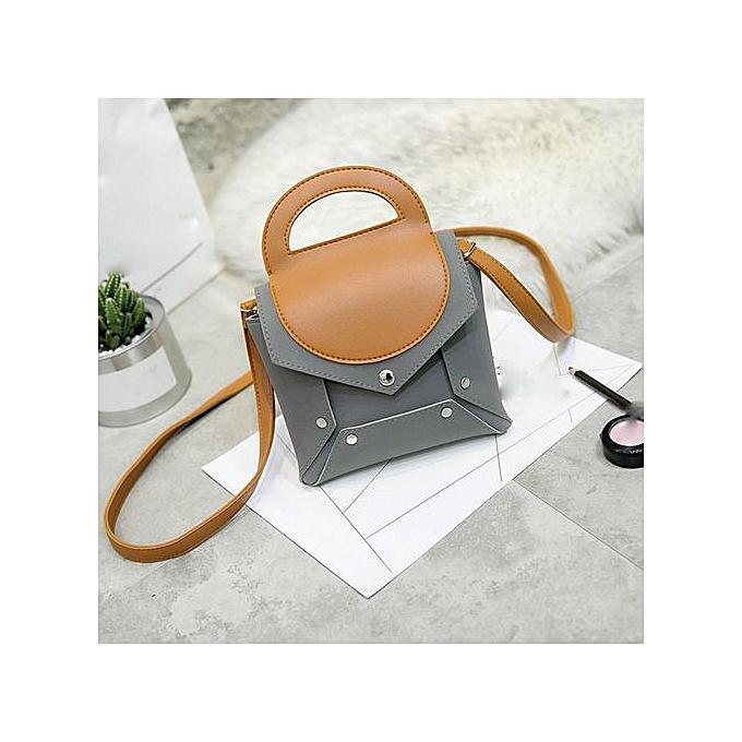 eadfd2d43a02 Zetenis New Designs Ladies Casual Shoulder Bag Women Handbag Shoulder Messenger  Bag GY -Gray