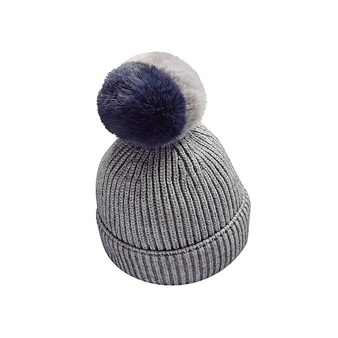 6d29f92ec06c Eissely Baby Toddler Kids Boy Girl Knitted Crochet Beanie Winter ...