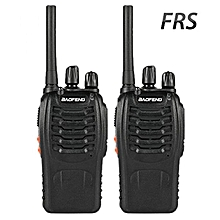 Baofeng BF-88A FRS Radio Walkie Talkie Long Range Two-Way Radio(Upgrade Version Of BF-888S), 16 Channels CTCSS/DCS 462MHz-467MHz Handheld Radio, Pack of 2