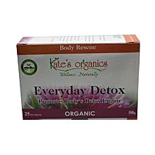 Everyday Detox Tea Bags  -  50g