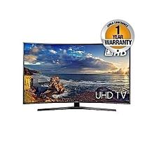 """UA55NU7300K – 55"""" - UHD 4K Curved Smart LED TV - HDR - Black"""