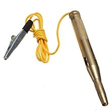 Auto Car Motorcycle Circuit Tester 6V 12V 24Volt Gauge Test Voltmeter Light Bulb