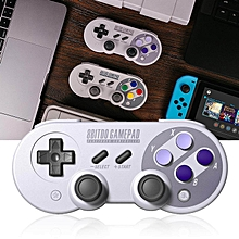 LEBAIQI 8Bitdo SF30 Pro Gamepad Controller For NES Switch macOS Steam Android Windows