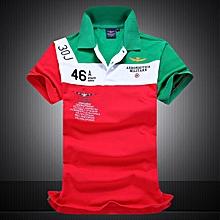 New Cotton AERONAUTICA MILITARE Air Force One Polo Shirts-green