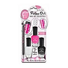 Polka Dots Nail Art - La-Di-Dots