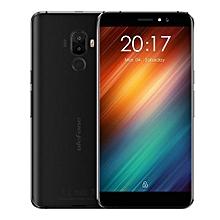 S8 5.3 Inch 3G Smartphone Android 7.0 MTK6580 Quad Core 1.3GHz 1GB RAM 8GB ROM 2.5D Screen Dual Rear Cameras Fingerprint Scanner-BLACK