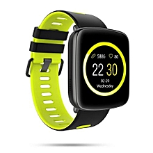 Smartwatch Waterproof Bluetooth Android IOS Compatible Heart Rate Monitorr-GREEN