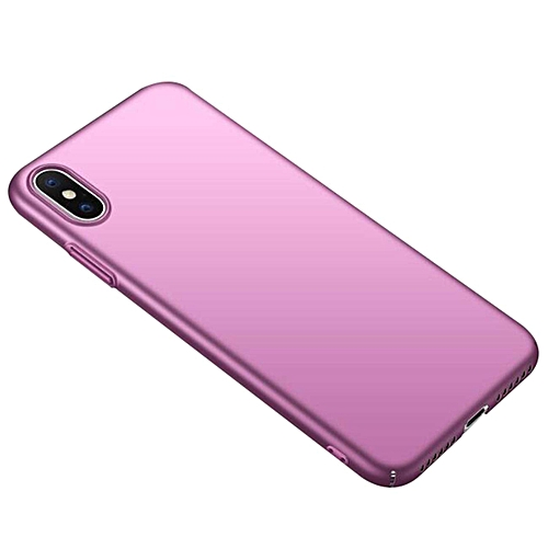 Hard PC Protective Scratchproof Cover for iPhone XR - Purple 1 - iPhone Xr