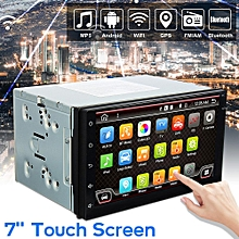 7'' Android 6.0 Double 2 DIN Navi Sat Nav Car GPS Stereo Radio WiFi CAN