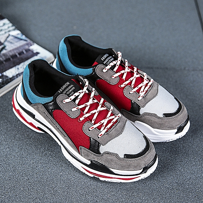 86ed79a035f Men Casual Fashion Sport Shoes/Red