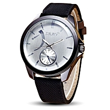 SBAO Symphony Fashionable Personality High-grade Business Belt Watch     - White